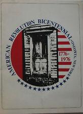 Oneonta Bicentennial Souvenier Program