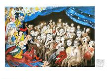 LEA GRUNDIG - 30 YEARS OF SED CHILDREN'S THEATRE RARE EAST GERMAN ART PRINT 1976