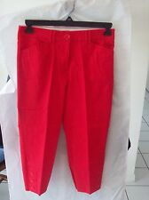 Counterparts Red Capris Pants Size 6P Cotton Blend