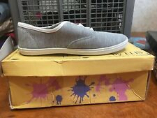 Free Choice By Elis Heather Grey Lace-Up Tennis Shoes Size 6.5