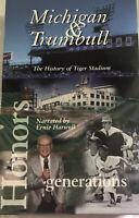 "VHS/CD Michigan & Trumbull ""THE HISTORY o TIGER STADIUM"" Ernie Harwell Al Kaline"