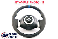 BMW Mini Cooper R50 Cooper Volant Neuf Cuir Noir Avec 2 Rayons