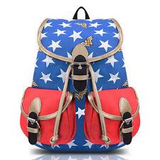 DC Comics Wonder Woman Knapsack School Bag Backpack Student Rucksack Unisex Gift