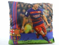 Coussin FC Barcelona Football 9 Suarez Avec Signature 30cm