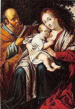 BG35889 painting postcard de heilige familie belgium anvers mechelen