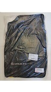 LEXUS OEM FACTORY CARPET FLOOR MAT SET 2013-2015 ES350 / ES300H (BLACK)