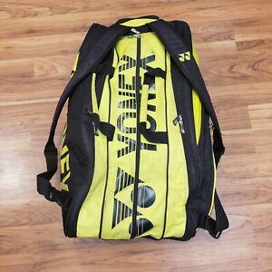 YONEX 9629EX (Yellow)(9-Pack) Pro Tournament Badminton Tennis Racket Bag