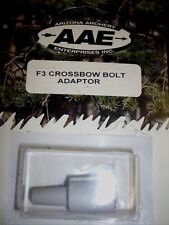 AAE FLETCHING JIG CROSSBOW BOLT ADAPTER   - NEW ARCHERY