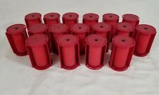 LOT of 17 Caruso Molecular Steam Hot Rollers Curlers Size Large + Jumbo EUC!