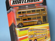 Matchbox Routemaster London Bus Gold Body Toy Model Car 75mm Long in BP Best