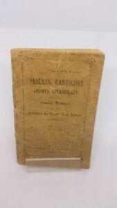 Prières, cantiques chants liturgiques pour les œuvres militaires - 1907