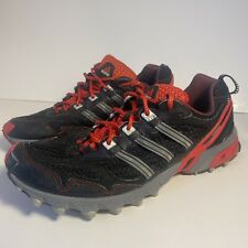 Adidas Kanadia TR Black/Red Trail Running Sneakers Shoes Men's Size 11.5