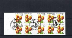 [LM20335] Belgium N°B34 Buzin Flowers USED COB € 35,00 SUPERB