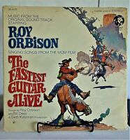 Roy Orbison ‎-The Fastest Guitar Alive- 1967 MGM #SE4475 Rock Vinyl LP - VG/VG+