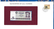 Banknotes of All Nations GDR East Germany 1975 5 Mark UNC P 27a IH366678