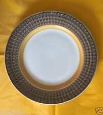 "HARUTA ATURA STONE 8406 DIAMOND SEPIA JAPAN 11"" ROUND CHOP PLATE PLATTER EUC"