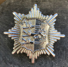 HASTINGS FIRE BRIGADE CAP BADGE.