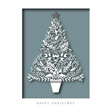 Christmas Cards Opulent Tree - Pack of 10