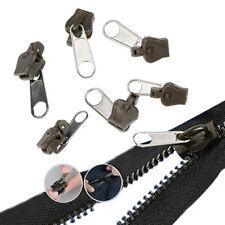 Kit 6 Zipper Réparation Fermeture Éclair Manteau Veste Jeans Sac A Main Fix Neuf