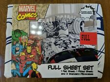 Marvel Comics 4 Piece Full Sheet Set