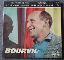 Bourvil, les sourires de Paris, EP - 45 tours