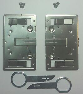Halter Verriegelung Ausziehaken Entriegelungswerkzeug Mercedes Comand 2.0 W163