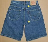 Levis 550 Relaxed Fit Blue Jeans Shorts sz 32 (actual 30)(#1261) EUC
