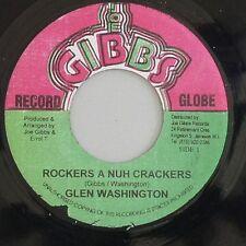 Glen Washington-blikandistjörnur a Panda Crackers (JOE GIBBS) 1976