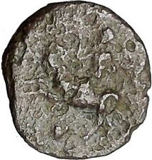 Himera in Sicily 420BC Rare Ancient Greek Coin Pan riding goat Nike Cult  i49712