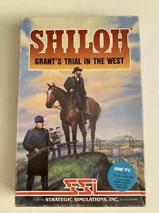 SSI SHILOH: GRANT'S TRAIL IN THE WEST*Civil War Simulation GAME*Tested & Works*
