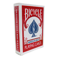 Bicycle 809 Playing Cards - Mandolin Back - Red