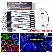 NO Threading 1IN10 Ambient Light Lamp APP Car InteriorDecorative W/Foot light