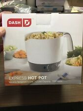 Dash Express Electric Cooker Hot Pot with Temperature Control
