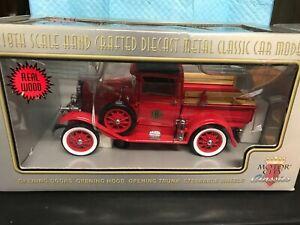 MOTOR CITY CLASSICS 1931 FORD MODEL A TRUCK--FIRE CHIEF-NIB-------------lm