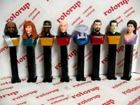 PEZ Star Trek 25 The Next Generation set of 8 loose. removed from package