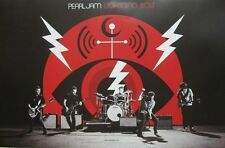 Pearl Jam 2013 Lightning Bolt 2 Sided Promotional Poster New Old Stock Flawless