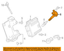 FORD OEM 15-17 Mustang-Ignition Coil GR3Z12029A