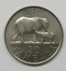 1971 MALAWI 20 TAMBALA Take a Look