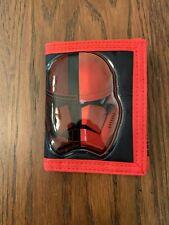 Bioworld Star Wars First Order Tri-Fold Nylon Wallet Nwob Allegiance
