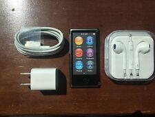 Apple iPod Nano 7th Generation (16GB) Slate Black New