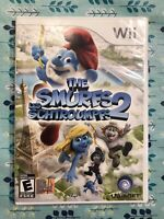 The Smurfs 2 Nintendo Wii 2013 Video Game Complete with Manual