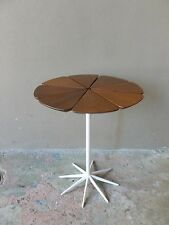 EARLY 1960'S RICHARD SCHULTZ REDWOOD  PETAL TABLE FOR KNOLL ASSOCIATES