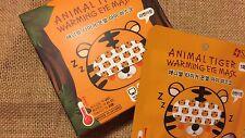 Asian Beauty[SNP-Korea]Animal Tiger Warming/Relaxation/Recharged Eye Mask x1pair
