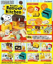 Re-Ment Miniature Peanuts Snoopy's Retro Kitchen Full set of 8 pcs