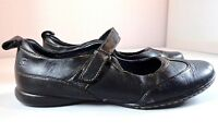 Born Womens Black Leather Mary Jane Shoes Size 9.5 / 41