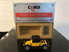 Corgi Collectors Classics C826 1910 12/16 Renault Model Toy Car 1985 1:43 Scale