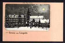103764 AK Liegnitz um 1900 Peter- Paul Kirche Winterbild