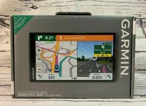 "Garmin Drive Smart 71EX w/ Traffic 6.95"" Bluetooth North America BNIB"