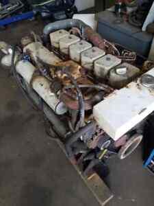 Cummins 6BT 5.9-M ,  210 HP Marine Diesel Engine