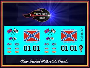 1/43 'General Lee'  TV Version Decal SCR-143-0317